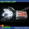 glow in the dark products led string light for christmas holiday