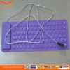 Waterproof Roll-up Silicone USB Keyboard for Desktop