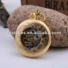 High Quality skeleton mechanical antique ladies pocket watches