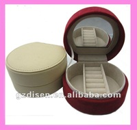 Round paper jewelry box decorative pill box