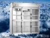 upright glass display refrigerator VAR15502L6H-S