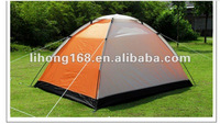 2-4 person double skin outdoor tent with opposite door
