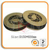 Round CD Tin Holder with Zipper