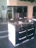 integrated cooking range