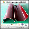 Hot sales poplar core melamine brown film faced plywood