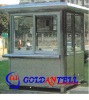 New style portable light steel small steel house & sentry box house & mobile sentry box