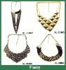 2013 most welcome new design alloy handmade necklace