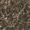600X600MM Turkish Emperador Dark Glazed Polished Porcelain Marble Stoneware Floor Tile FE6099