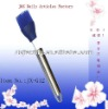 Silicone basting brush with stainless steel handle