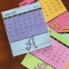 card desk calendar 2013 from China printer