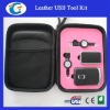 Leather Material Laptop Tool Kit