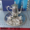 silver plated arabic coffee set and water set