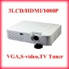 3LCD 1080P Full HD Home Theater Projector
