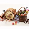 wicker basket,picnic basket,wicker basket storage