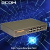 16-port unmanaged Gigabit Fast Ethernet Rackmount Network Switch(16 10/100/1000M RJ45 ports,Steel Case)