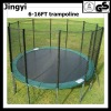 [2012 Best selling]professinal trampoline with safety net