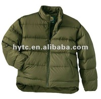 2012 latest fashion Men's down jacket, OEM factory