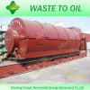 HuaYin Brand Scrap Plastic Refining Oil Machine With CE and ISO