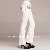 2011 hot sale ! women's fashion casual long trouser