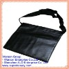 Black Color Fashion Leather Cosmetic Makeup Bag