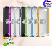 NEW! Your iphone 4 & 4S rechargeable external backup battery case 2000mAh
