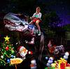 2012 New! Christmas festival exhibition dinosaur