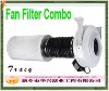 carbon Filter with fan for hydrophonic