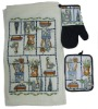 3 piece set cotton tea towel