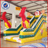 Gaint inflatable water slide,wet slide