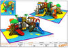2012 Newest design plastic children playground