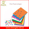 Foam geometric shapes