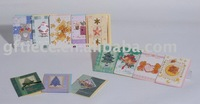 Mini card /holiday card/ gift card /box card professional supplier