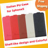 Italian PU shelf-like design phone case,mobile phone case
