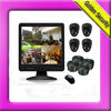 4-channel stand-alone DVR kit with LCD monitor inbuilt