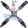 "MC4 ""X"" M/F/F/F Solar Panel Cable Branch Connector"