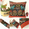 cotton colorful pillow cushion