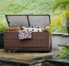 Outdoor Woven PE Rattan Deck Box
