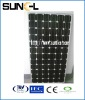 Lowest price 180w monocrystalline solar panel/module/model system use