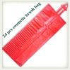 Wholesale Red PU cosmetic bag