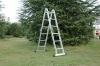 multi-purpose aluminium ladder with EN131 certificate