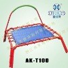 Gym Mini Trampoline with stabilizer bar