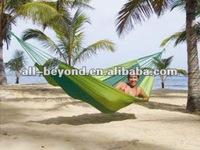 colorful stripe cotton canvas portable travel hammock