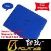 2012 Many colors customized Top PU quality Smart Slim Cover for ipad 2/3