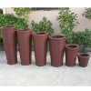 Furniture outdoor wicker flower pot