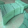 PVC coated after galvanized plain bar steel grating (HT-GG-003)