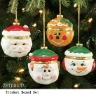 Christmas tree Holiday Character Ornament Trinket Boxed Set