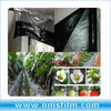 Silver black plastic mulching film for agriculture