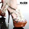 kvoll high heel sandal