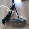 Metal remote control for electric linear actuator