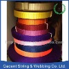 High quality soft nylon webbing for dog collar and leash